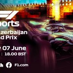 Are you ready for tonight's racing action?   Here's ALL the deets you'll need as we take on the streets of @BakuCityCircuit!  ⏰ 5pm BST ➡️#F1Esports Exhibition Race ⏰ 6pm BST ➡️#VirtualGP   📺: https://t.co/X118CR3K0j 📺: https://t.co/iWQxK7azJw 📺: https://t.co/sd6W0SdAp2
