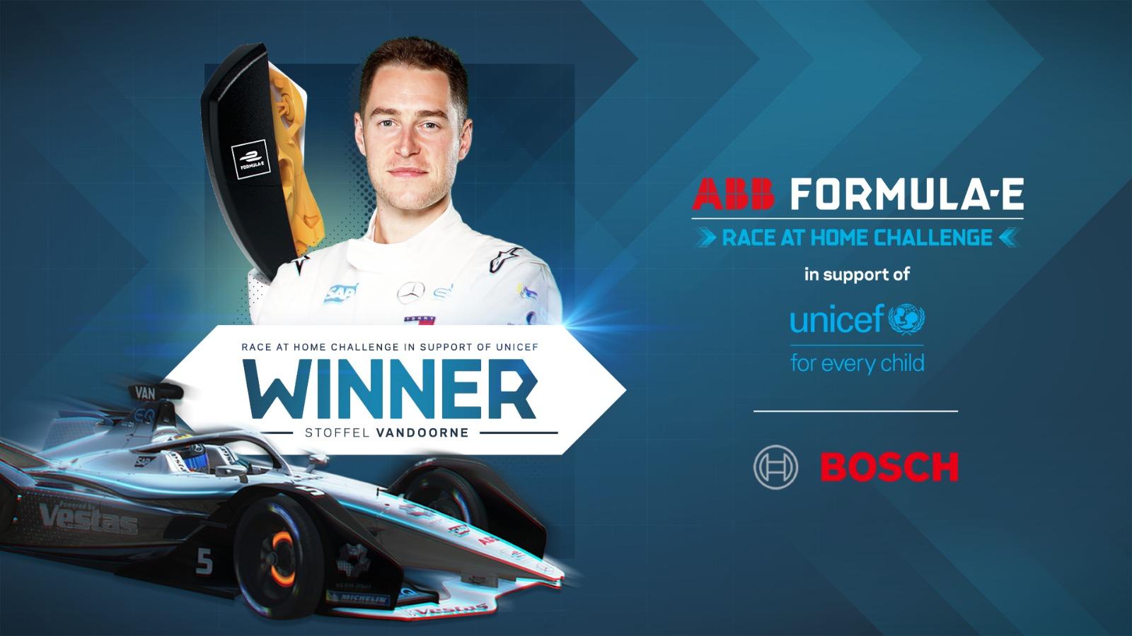 Formula E Grand Final: Rowland wins, Vandoorne on top