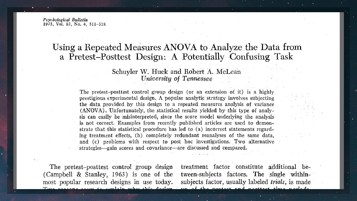 """""""In terms of data analysis, it appears as though many researchers have a tendency to do things in a complicated manner even when a simpler procedure can accomplish the same goal. Possibly they feel that a complex analysis makes their research ... more publishable"""".   #phdchat https://t.co/eZwOk8IAYs"""