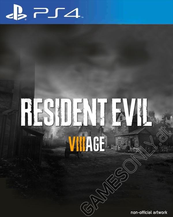 Suposta capa de Resident Evil 8