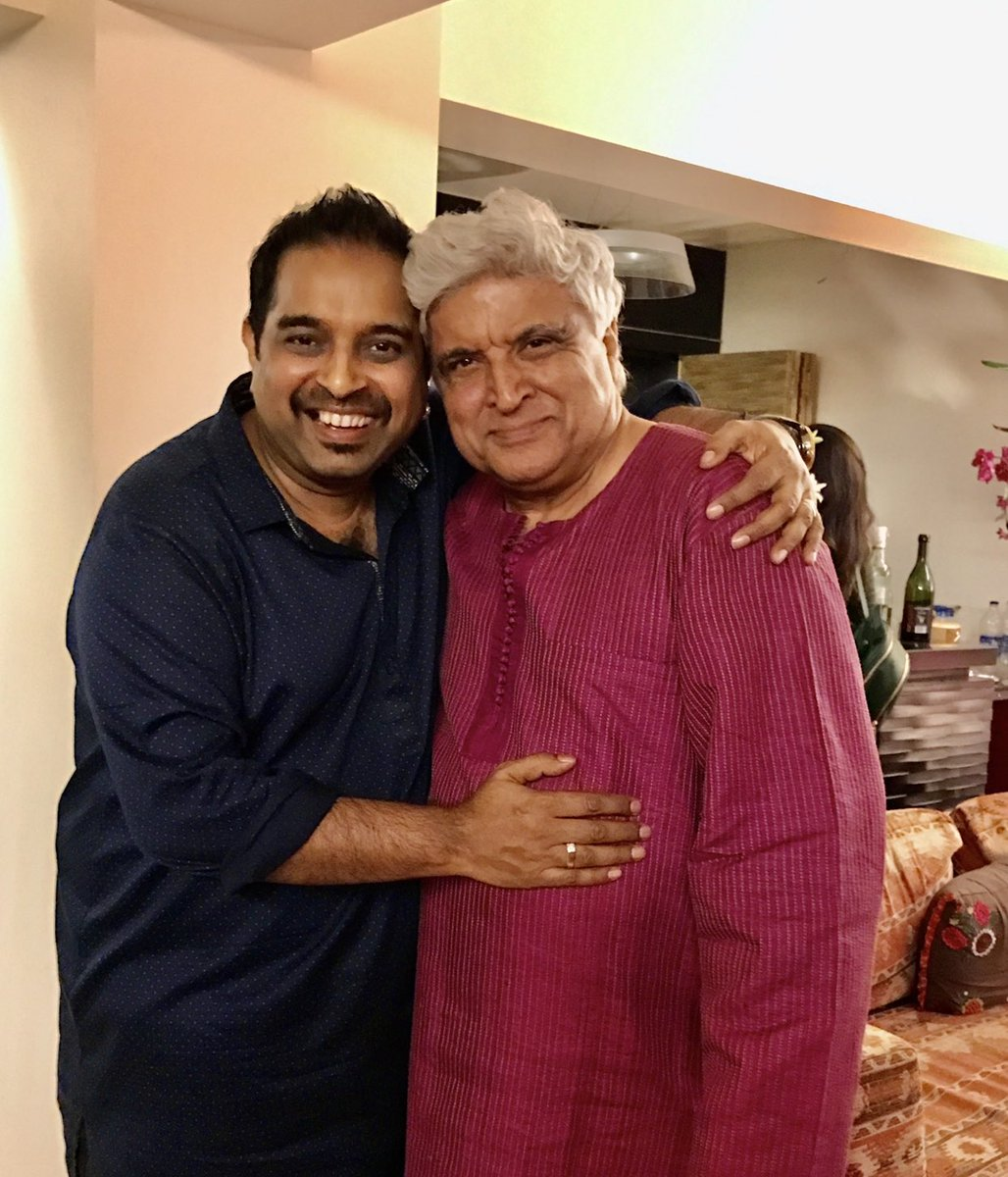 Heartiest congratulations to the one and only @Javedakhtarjadu for receiving the prestigious Richard Dawkins award 2020 for critical thinking ,holding religious dogma upto scrutiny , advancing human progress and humanist values .He is the only indian to receive it ever ! https://t.co/cHFn2gJMEK