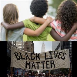 RESPECT! 👍 #BlackLivesMatter