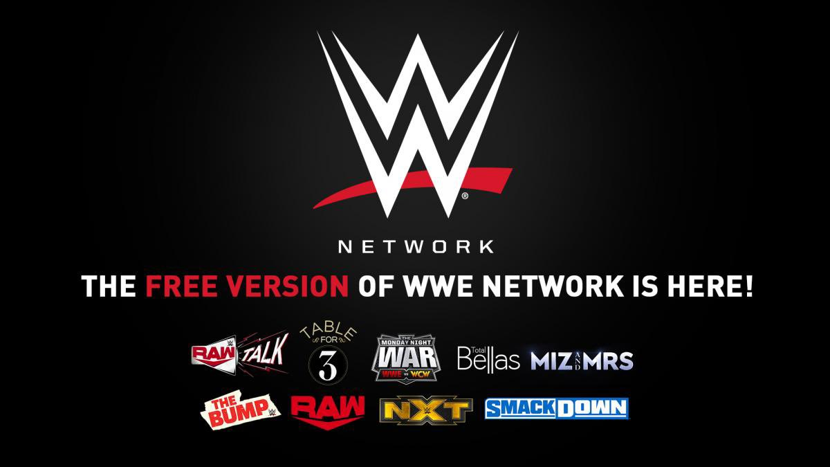 WWE Network Free Version Now Available