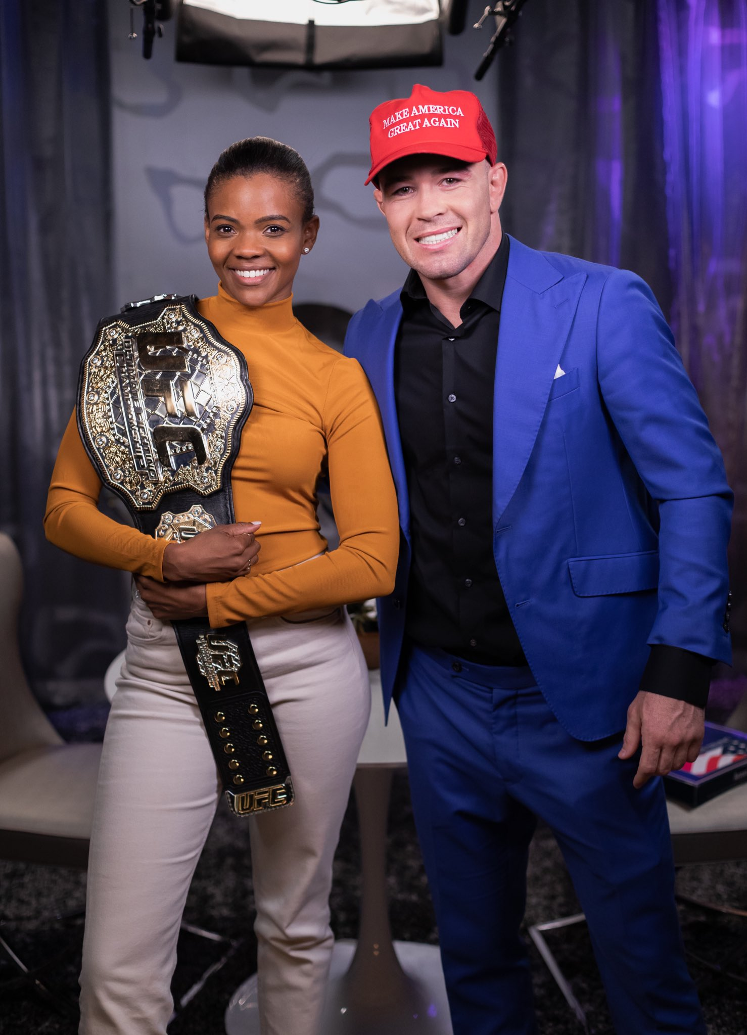 Colby Covington On Twitter Realcandaceowens Is The Ultimate Fact Champion Facts Don T Care About Your Feelings I Will Always Stand For The Flag And I Will Always Stand By Fellow Patriots God