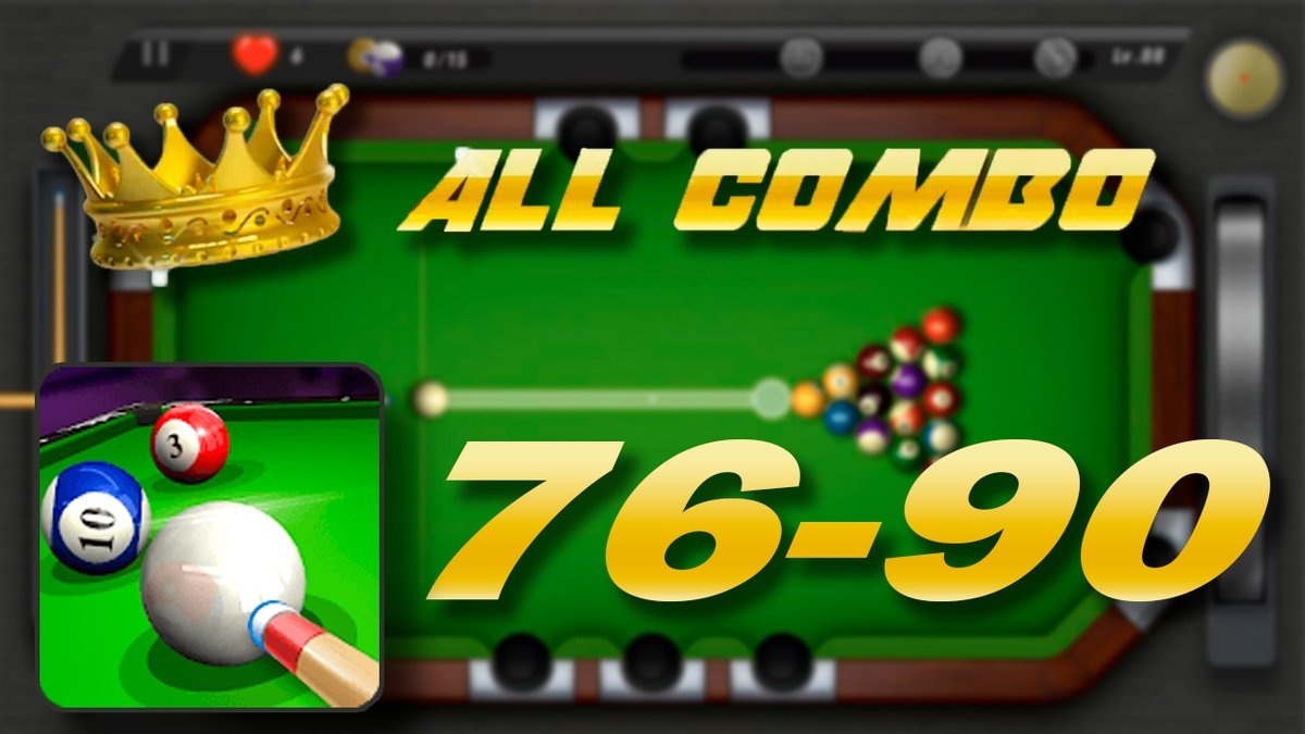 POOKING ▶ 🎱 Billiards City Level 76-90 ALL COMBO | GamePlay  (IOS, ANDRO... https://t.co/f2eVS3J2PB a través de @YouTube   #POOKING #pookingcity #pookingbilliardscity #billiardscity #8ballpool #poollivetour #billiards #amazingshots #allcombo #youtube #viral #gamer #gaming https://t.co/3DInRzeRZq