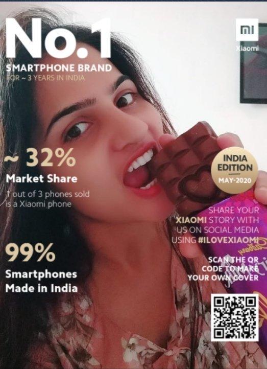 My cover..    #MagazineCoverChallenge   #1BrandXiaomi  #ILoveXiaomi   @XiaomiIndia   @aakash_beast786  @blessedkamal  @brocklessnerd  @Jay_parmar17  @Soniyaskjain1  @chilled_Sup  @VimalDarji5  @Sandeepkj62401  @BansalKunjkapil  @PritiNivoriya  @Chandansahoo378  @Sandeeppalo_13pic.twitter.com/ozuxjyEsPz