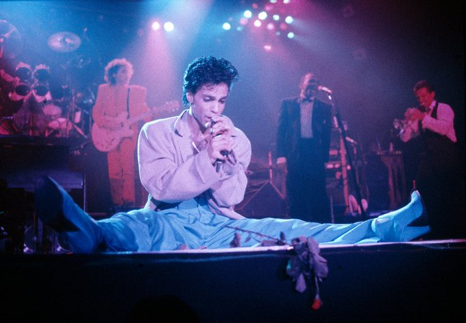 Happy Birthday Prince Photo from a 1986 show in London.