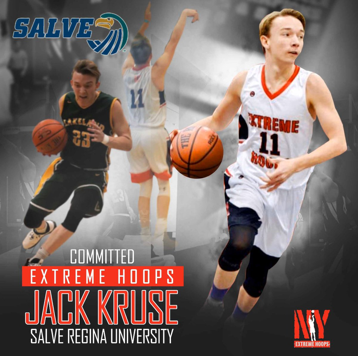 Congrats to Senior Jack kruse who committed to Salve Regina U! All league/All section for Class A lakeland with over 850 points after an injury missing 12 games. He is one of the most skilled kids Ive ever coached(check highlights on insta) & will be & impact player right away! https://t.co/wRZn5CDPzp