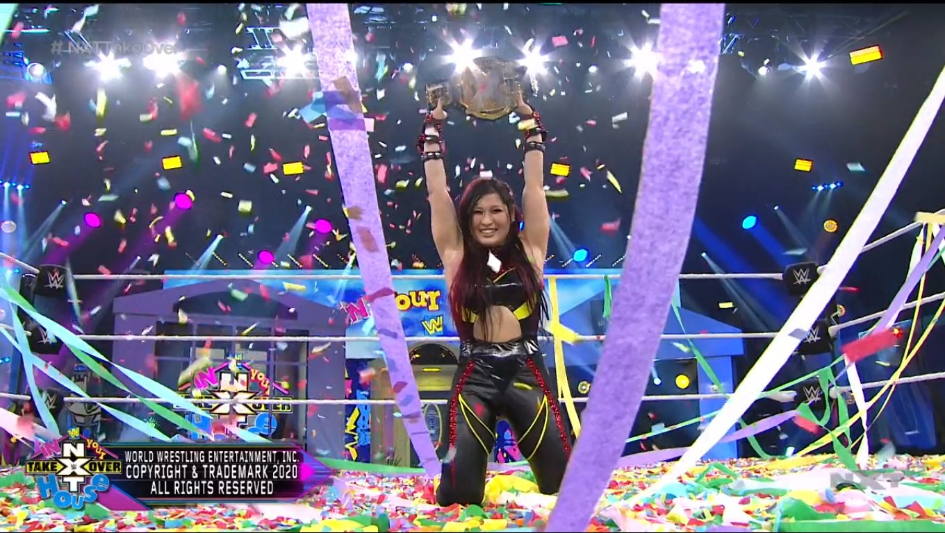 Io Shirai Becomes New WWE NXT Women's Champion At NXT TakeOver: In Your House 2