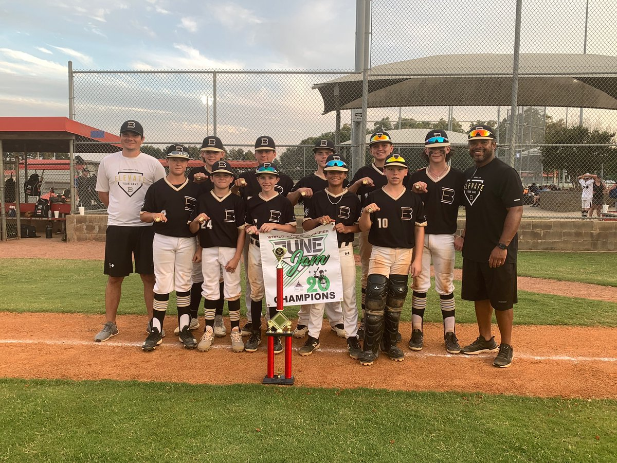 A big shout out to EBC 12U Henson, your 12 year old Major Division CHAMPIONS in the June Jam Global Qualifier. Dominant weekend!! @USSSABSBL @EasleyBaseballC @henson_jd https://t.co/zqNJ4IXJKX