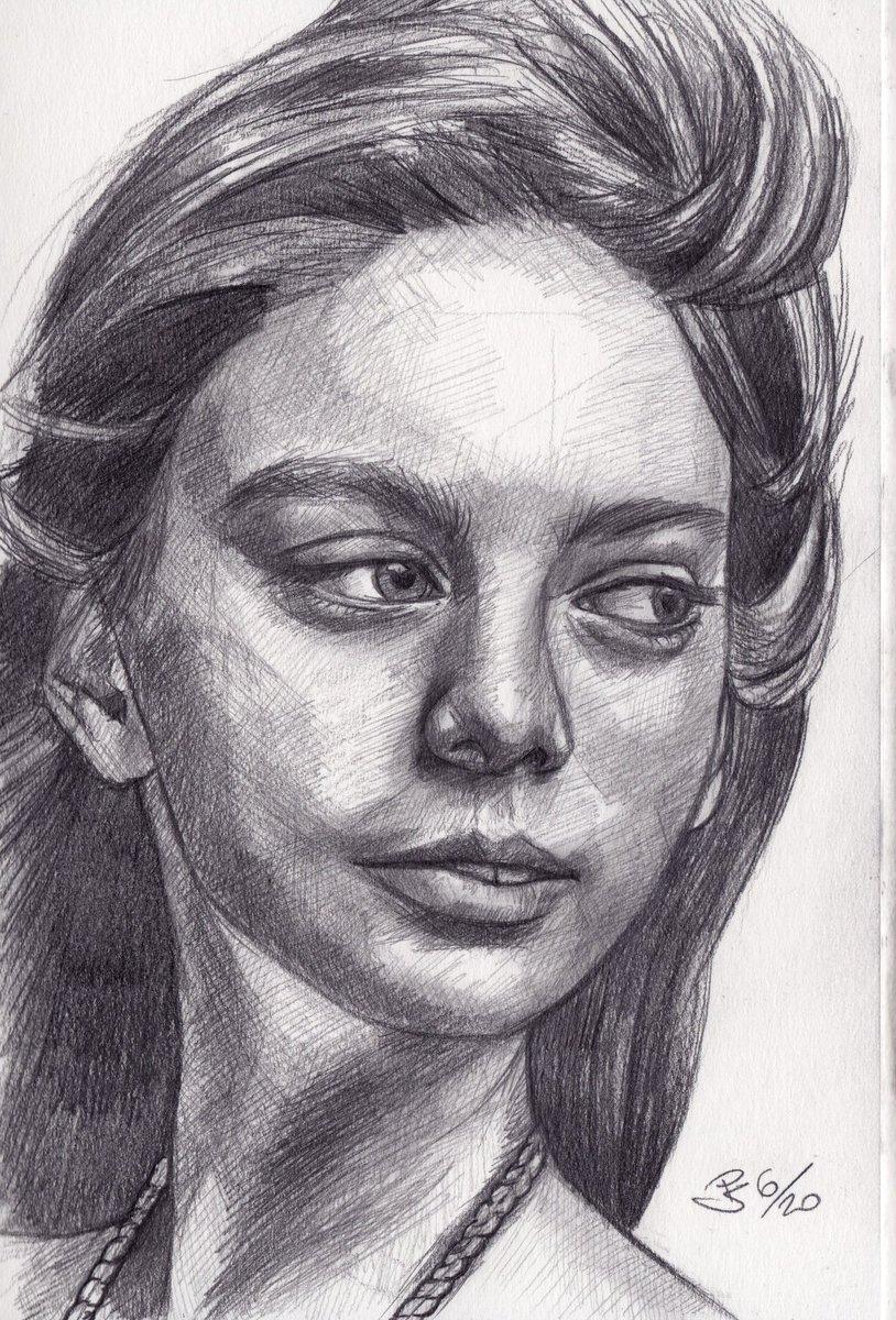 #graphite #pencil #portrait on #sketchbook  photo ref by Alexander Krivitskiy  on @unsplash  #art #handdrawn #handdrawnart #teamdli #pencildrawing #graphitedrawing #artist #iloveart #drawsomethingshowcase #united_artists_art_pic.twitter.com/SN3xgL2Ocv