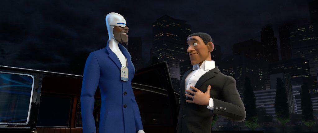 In 'Incredibles 2' (2018), The Usher who met Frozone was voiced by singer-songwriter Usher (via u/lucaswebb)