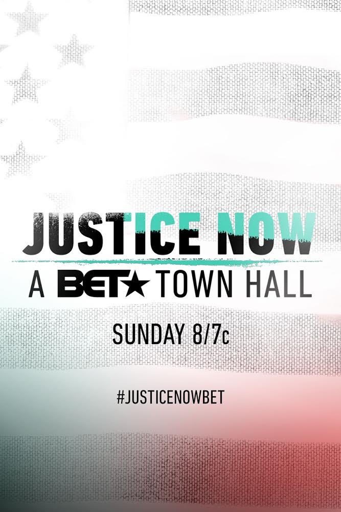 Glad to be a part of the #JusticeNowBET Townhall tonight.
