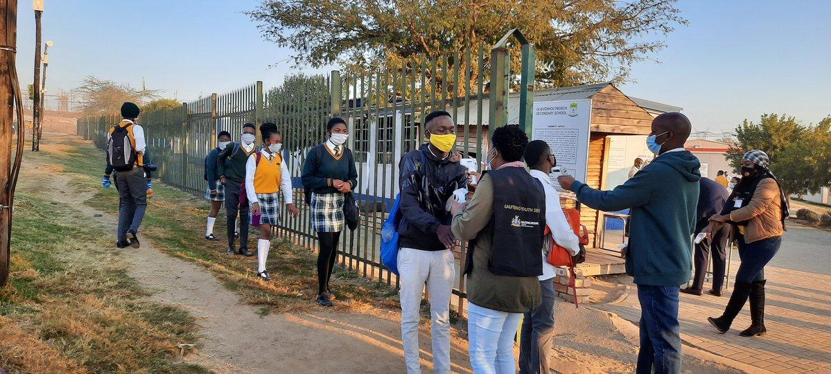School reopening in Pictures