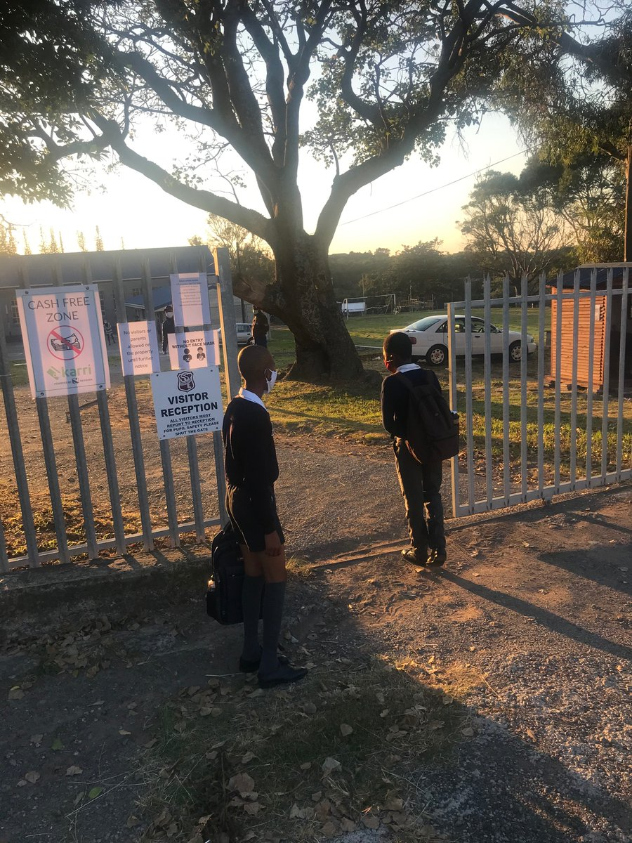 Schools open doors for Grade 7 and 12 students: In Pictures