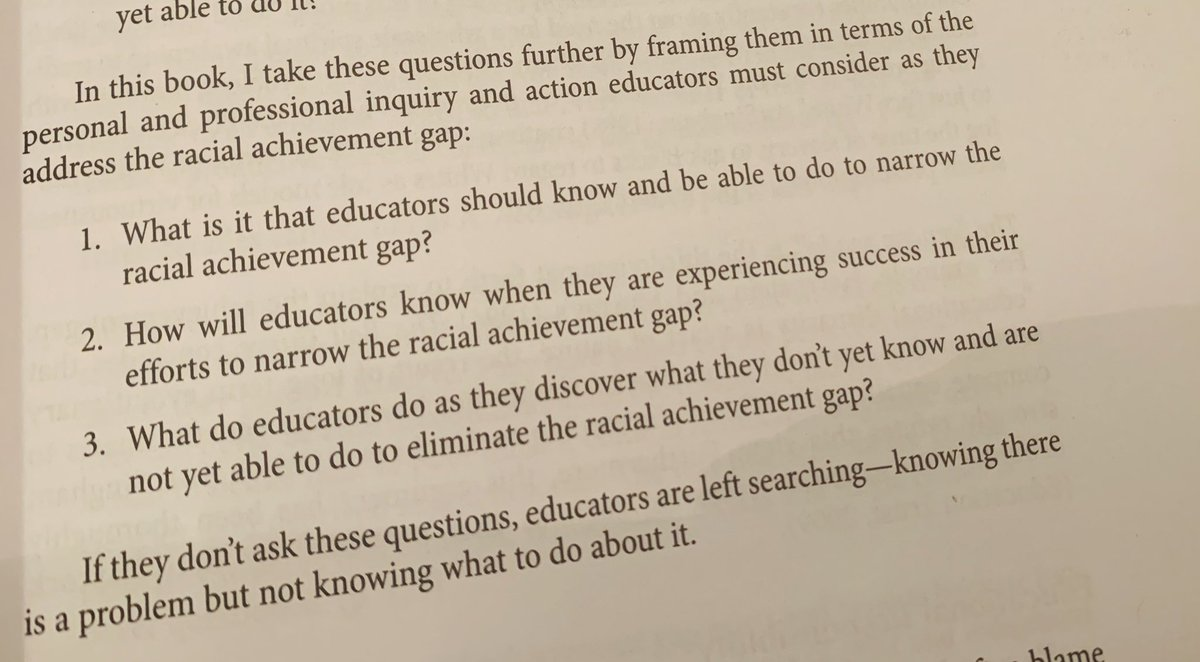 We need to rethink our PLC guiding questions. #CourageousConversations