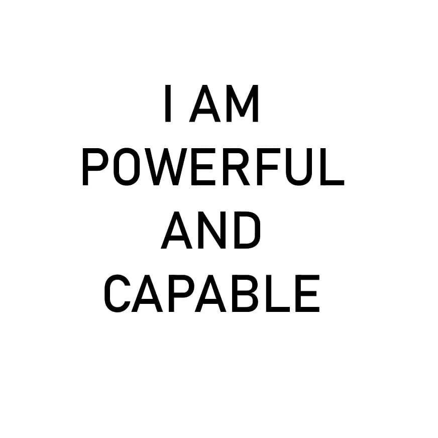 I am powerful and capable. . . . . . #vidyasury #affirmations #mondaymotivation #dailyaffirmations #positivevibes #mindfulness #selflove #selfcare #personaldevelopment #instadaily #collectingsmiles https://t.co/P1pK6LcmJZ https://t.co/V945aH2elU