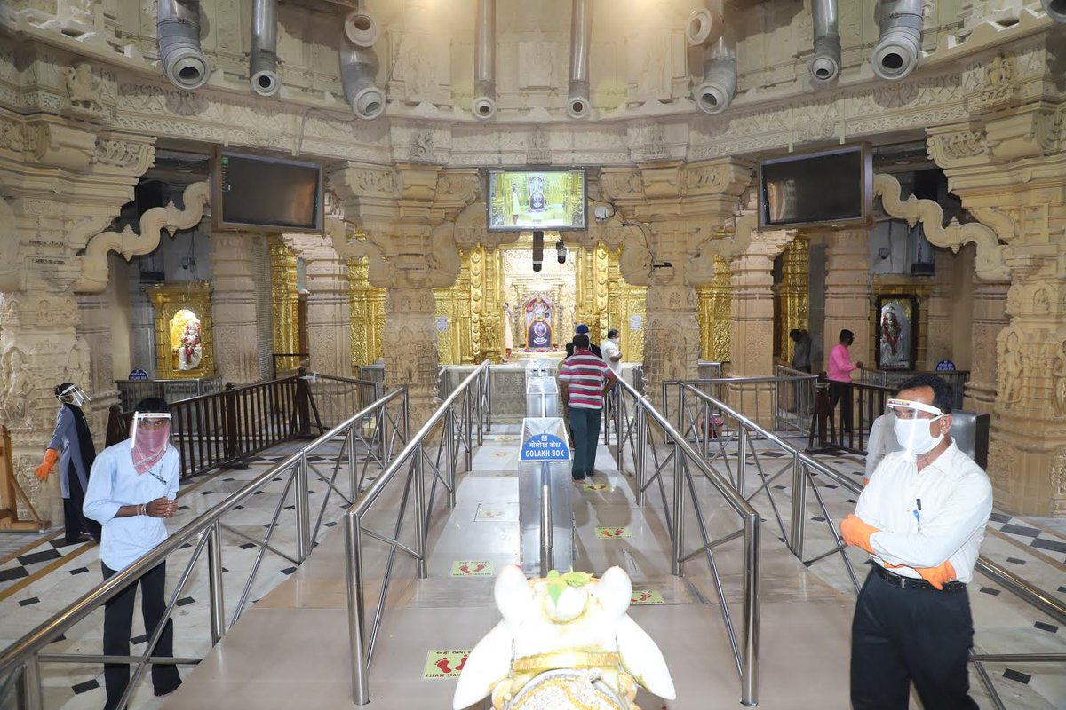 In pictures: Somnath Mandir reopens for visitors