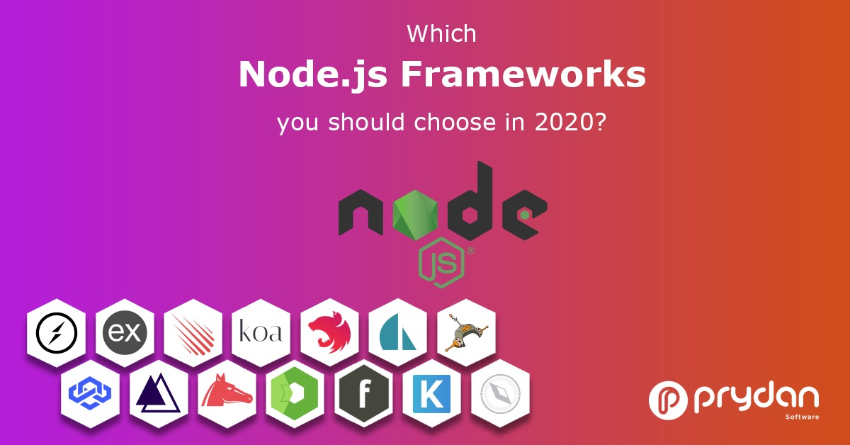 Node js is not a framework nor a language. So which node js framework you should choose for your project in 2020?Here is a short article about #nodejs frameworks. #reactnative #reactnativedeveloper #nodejsdeveloper #fullstackdeveloper  https:// prydansoftware.com/which-node-js- framework-you-should-choose-in-2020/   … <br>http://pic.twitter.com/89GC25PYcw