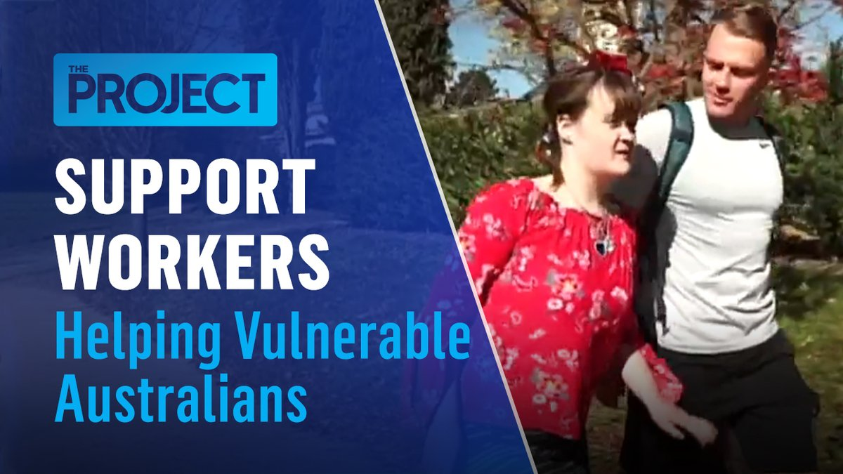 Isolation can be tough, especially for people with a disability and older Aussies.  But a tech-savvy bloke's big idea for a match-making service for support workers is making sure Australia's most vulnerable stay connected well beyond the pandemic. #TheProjectTV https://t.co/Wx8gIL1JWr