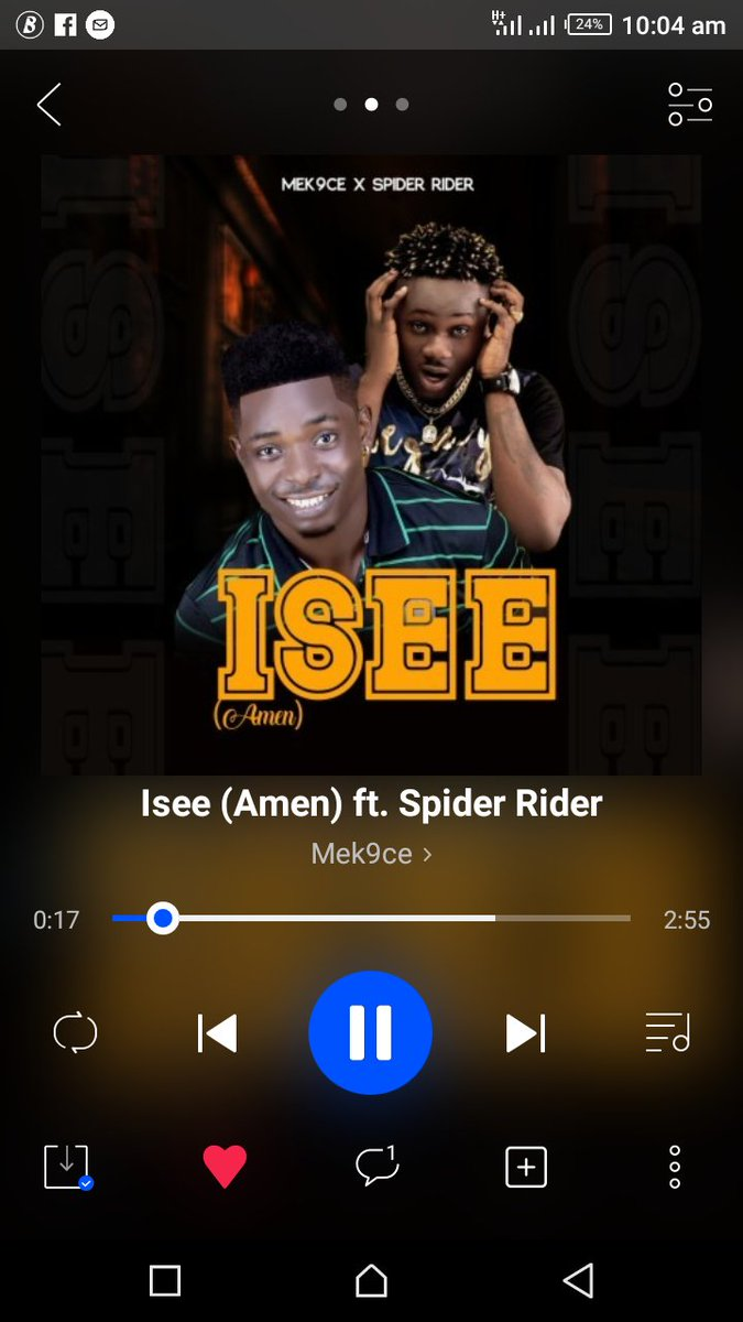 Please let get more streams  This song is a vibes #isee on @BoomplayMusicNG @BoomplayMusicGH @BoomplayMusic @BoomplayMusicTZ @BoomplayMusicKE @BoomplayHelp Let's take it to the world  @OwnDoctor @trafficbutter @Pepenazi @BenjaminEnfield #TrafficCenter https://www.boomplaymusic.com/share/music/35134048?srModel=COPYLINK&srList=ANDROID…pic.twitter.com/ljDRBUtF6a