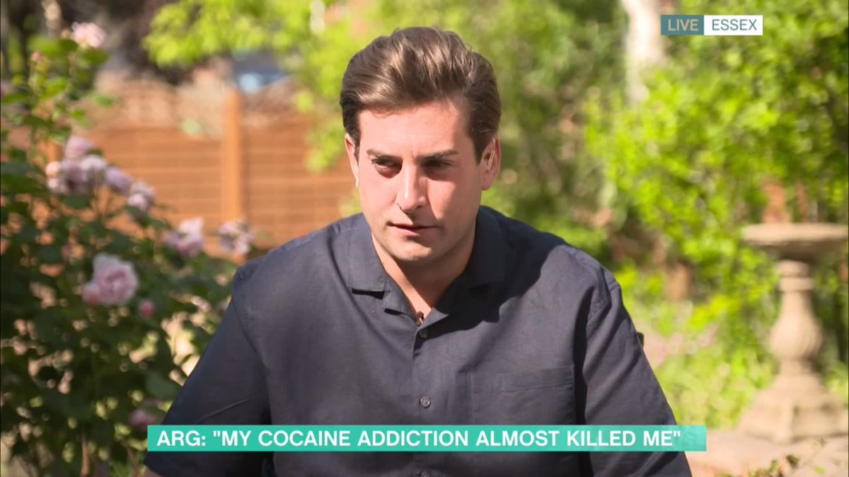 It was the worst-kept secret TOWIEs @RealJamesArgent opens up about his drug addiction on #ThisMorning Watch now 👉 bit.ly/3f50AZ4