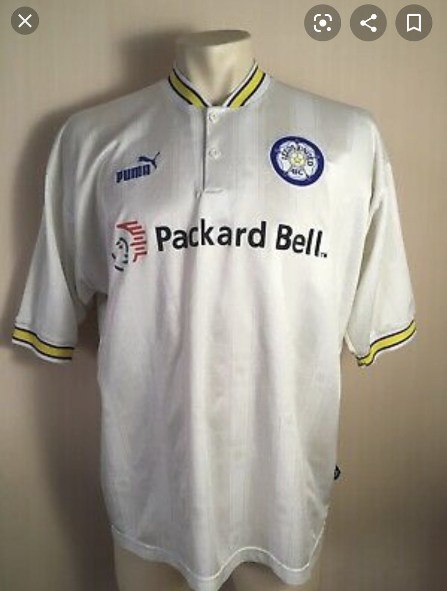 👕 Morning Shirt Find 🧐 Can you help find the Leeds 1996-97 in Large?