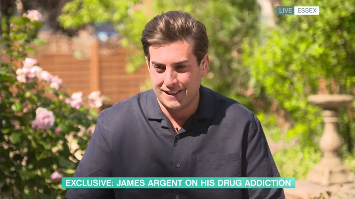 She refused to cover up for me ... at the time I hated her because I wanted to kind of almost get away with it @RealJamesArgent says @missgemcollins wasnt an enabler for his drug addiction. Watch #ThisMorning here 👉 bit.ly/3f50AZ4