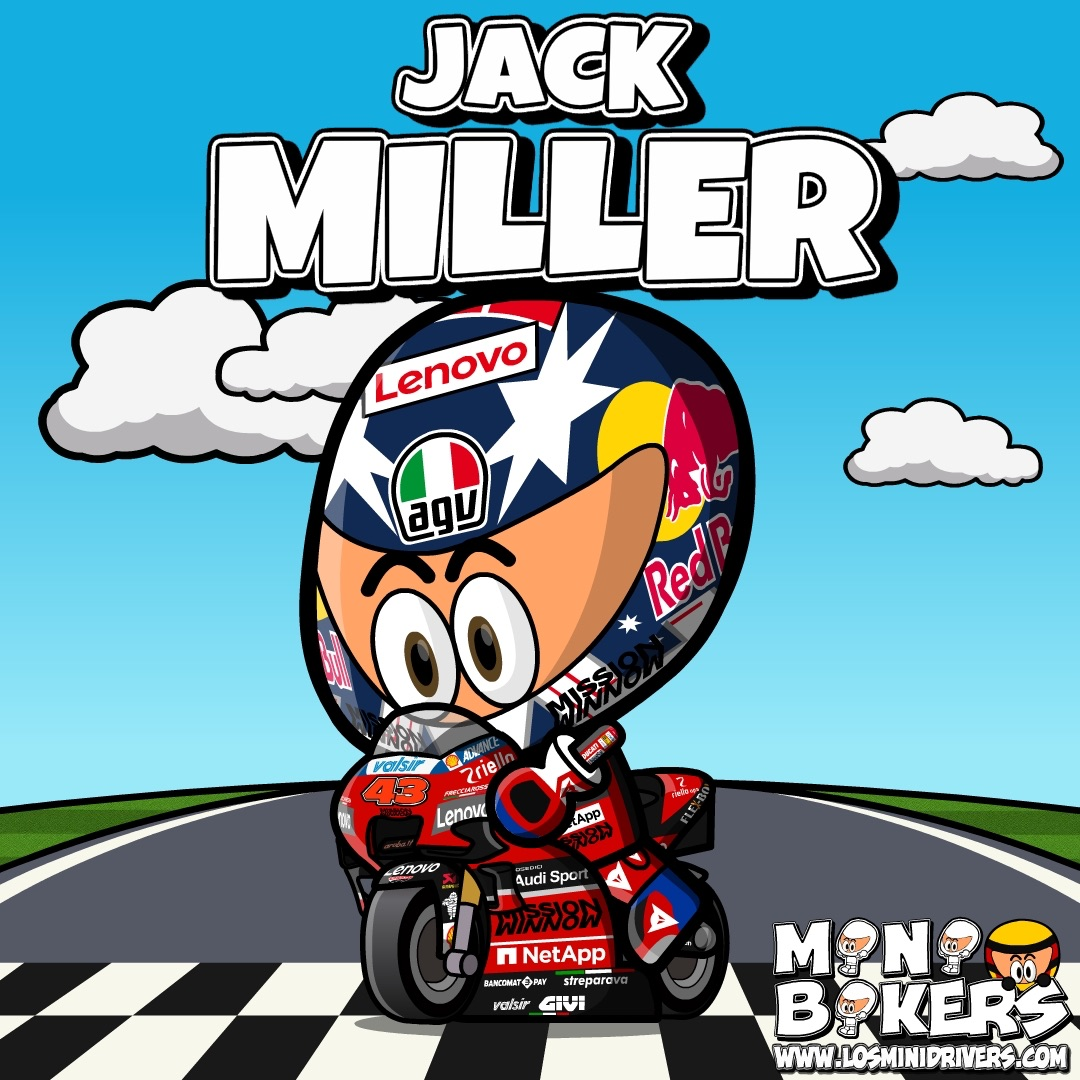 OFFICIAL: Jack Miller (@jackmilleraus) will be one of the two official riders for Ducati (@ducaticorse) for 2021. CONGRATULATIONS!