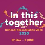 Image for the Tweet beginning: 🖤💛❤️ #NationalReconciliationWeek starts today.  I
