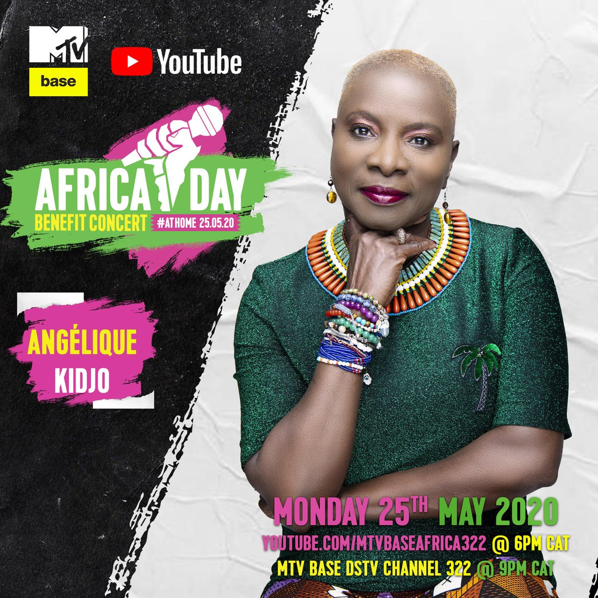 Did you tune into @MTVBaseAfrica x @YouTube for the #AfricaDayBenefitConcert? #Africa's greatest stars incl @UNICEF Goodwill Ambassador @angeliquekidjo - AND all to help the continent's most vulnerable children cope with the #COVID19 crisis:  http:// uni.cf/Africa     #AloneTogether <br>http://pic.twitter.com/nShtYcdBKY