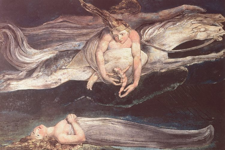 #illustration:  to Dante's Divine #comedy by ... William Blake pic.twitter.com/SZcQ4voW1i