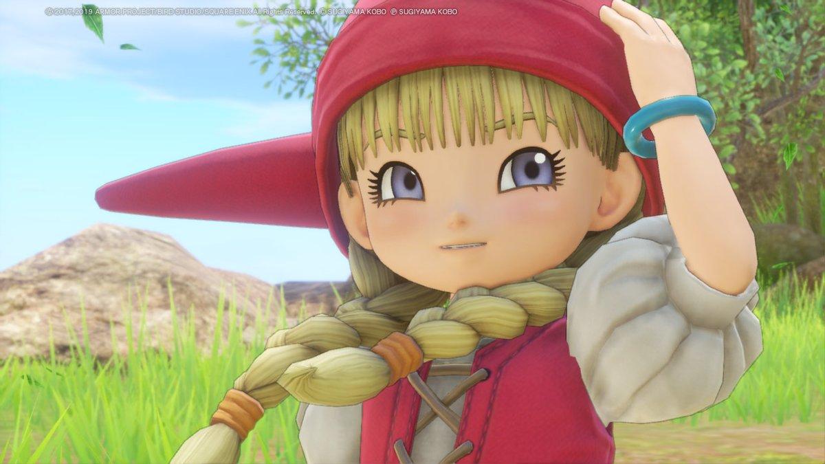 ベロニカ可愛いの!!!!!  #DQ11S #NintendoSwitch https://t.co/LSWUznx8yb