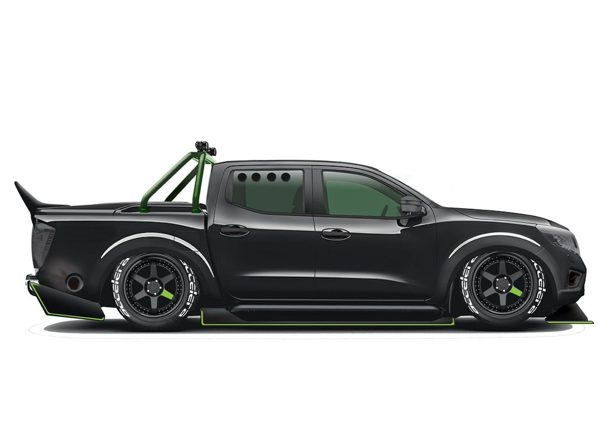 What would a 1000bhp #Nissan Navara pick up look like? One UK-based motorsports team is gearing up to find out... buff.ly/3ei1LDl