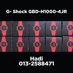 Image for the Tweet beginning: Hi guys! FOR SALE!  G-Shock GBD-H1000-4JR