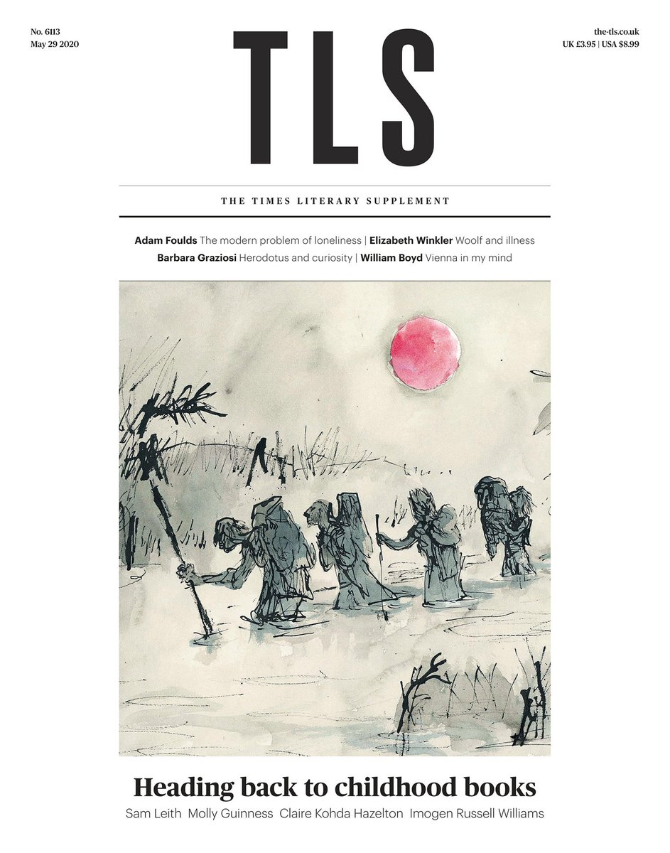 This week's @TheTLS has a cover by Quentin Blake.