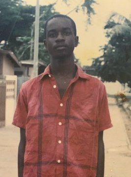 Throwback photo of Sarkodie in his teens