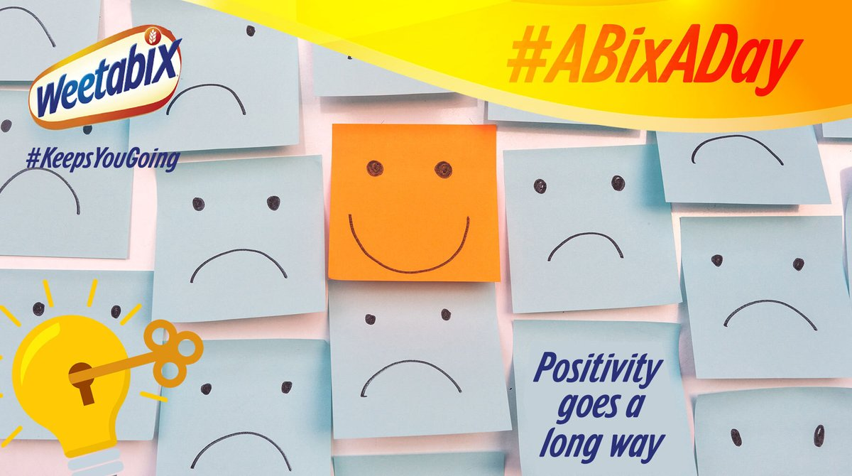 A little positivity goes a long way- and it all starts with YOU! Tell us how you're keeping positive in the comments! #ABixADay https://t.co/VlsaqVTm2N