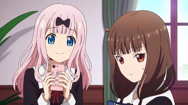 test ツイッターメディア - 「かぐや様は告らせたい?~天才たちの恋愛頭脳戦~」第8話の先行カットが到着。ミコから見たかぐやと白銀は不健全で?https://t.co/W1W1WZUUBn @anime_kaguya https://t.co/BOR0SVI94z