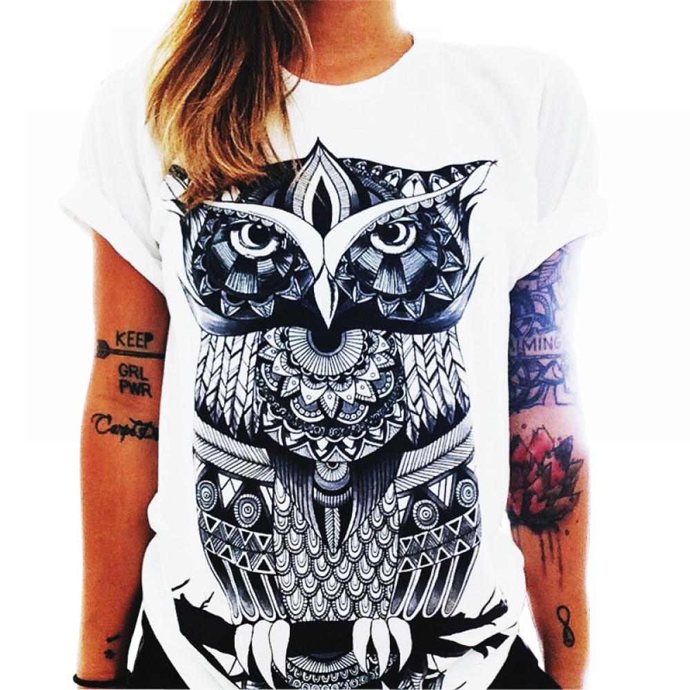 #glam #stylish Women's Owl Printed Cotton T-Shirt https://olalamode.com/womens-owl-printed-cotton-t-shirt/…pic.twitter.com/fWt5ijmgrA