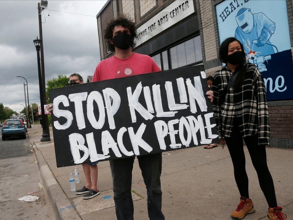 Whats Happening in Minnesota is a result of Police Terrorism in Our Communities.....The same struggle our Ancestors went through has not changed! Police Terror against Black People is real Life Pandemic! Don't blame the people blame the System for Failure! #weStillCantBreathe https://t.co/nVe17dzlga