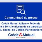 Image for the Tweet beginning: Crédit Mutuel Alliance Fédérale porte