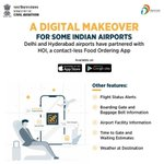 Image for the Tweet beginning: #ANNOUNCEMENT | Indian airports are