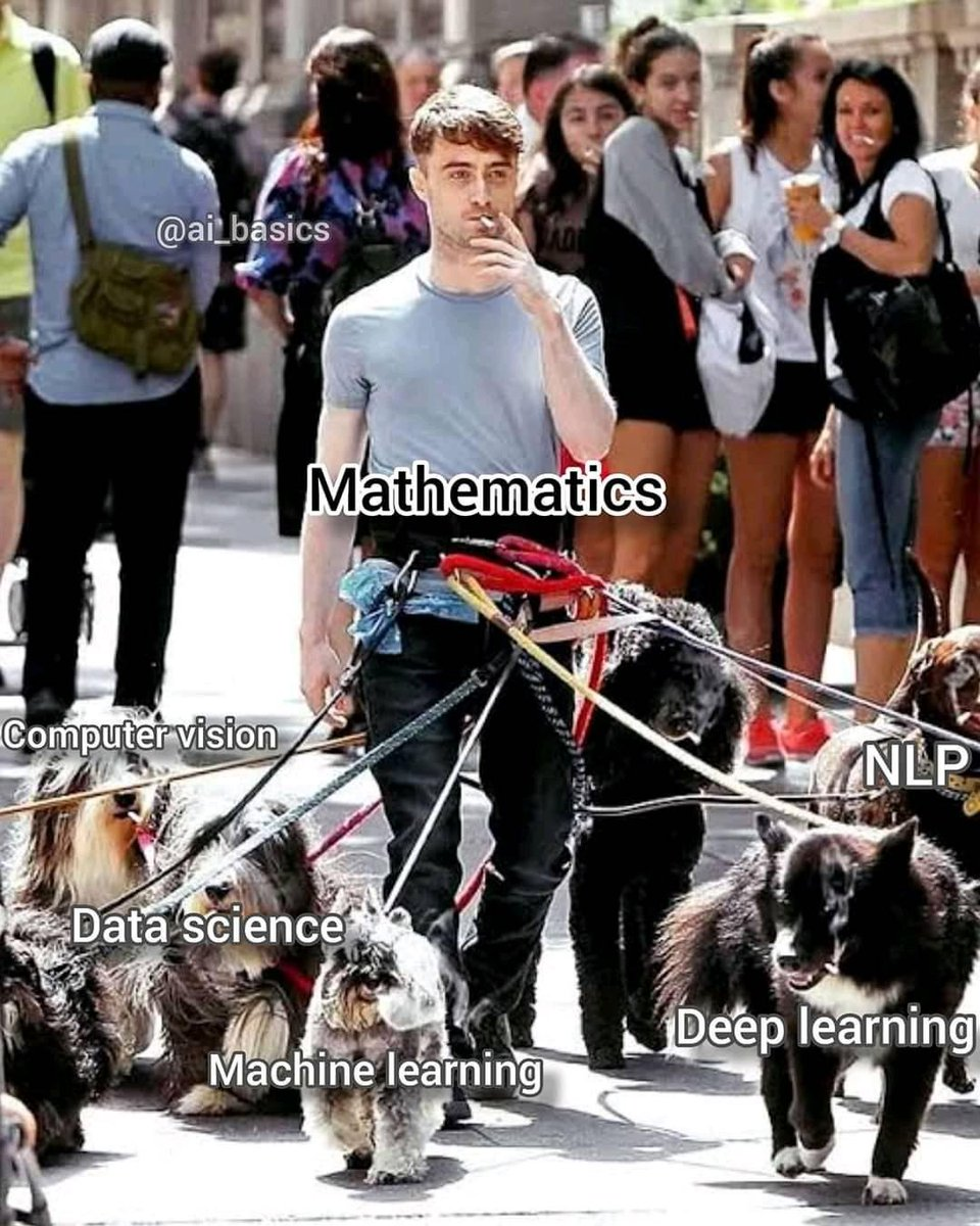 My life started from Mathematics   and now I code the other guys below   #MachineLearning #AI #DataScientist #Pythonpic.twitter.com/2UArM06KmB