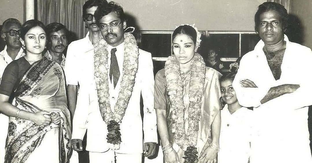 """Heytamilcinema on Twitter: """"GOLDEN PICTURE   #Goundamani at the wedding of # Manivannan.… """""""