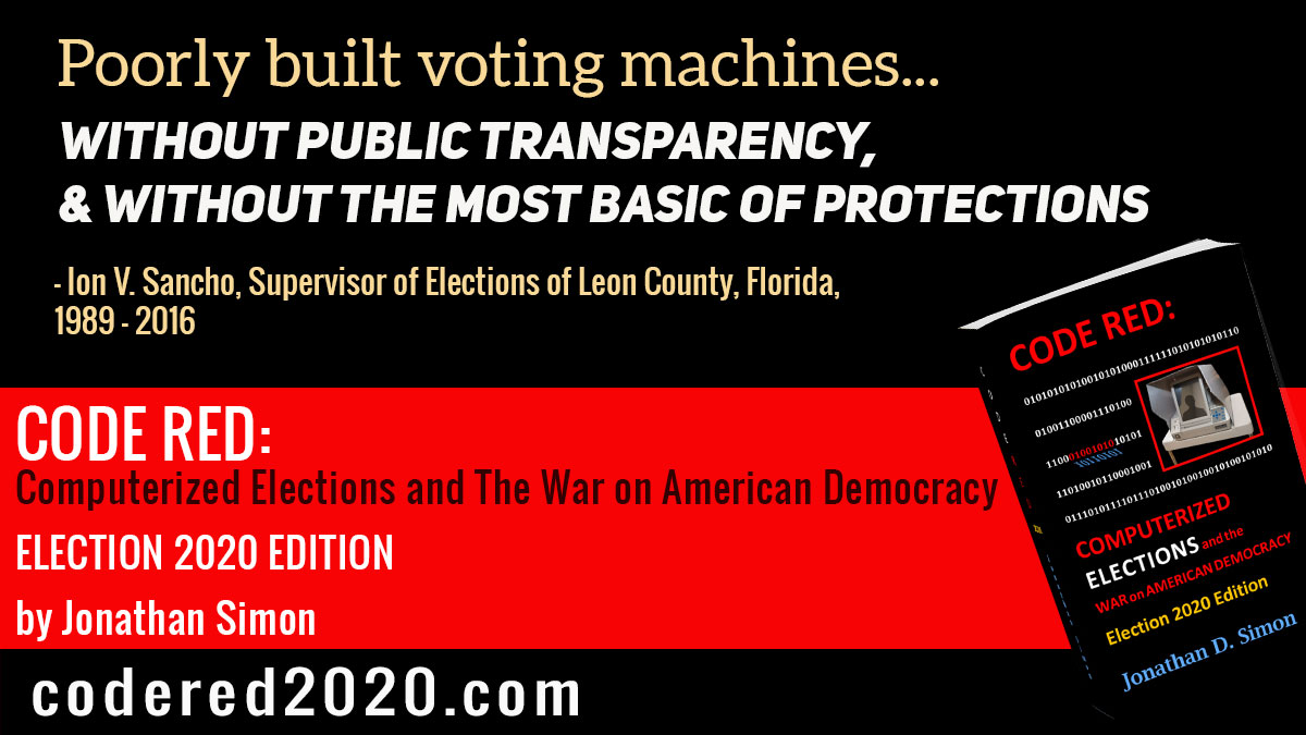 @lunaticopresid1 I dont think you factored in what Karl Rove + COVID can do to all those votes in the partisan pitch-dark of cyberspace. Ive been keeping score for 20 years and I promise you: It aint gonna be pretty and it aint gonna be easy.