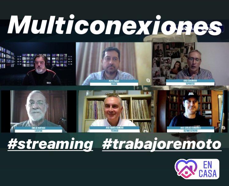 #desdecasa #teletrabajo #livestreaming #quédateencasa #streaming #directo #live #conferencias #congresos #eventos #eventosvirtuales #QuédateEnStreamingpic.twitter.com/hOwIdF7bN2