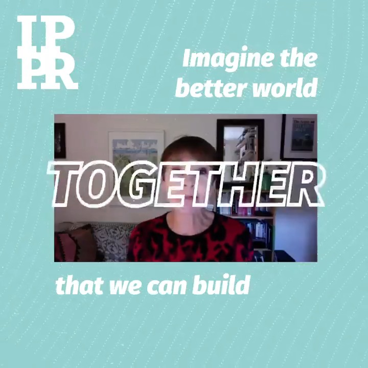 Imagine. Imagine the better world we can build together. Let's go faster, further and fairer to tackle the climate and nature crisis Read the interim report of the cross-party IPPR Environmental Justice Commission here bit.ly/EJCinterim #EJC