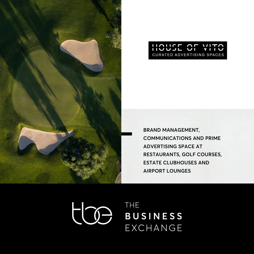 #TENANTFOCUS Brand communications & advertising are vital components of any business sales strategy. Our tenant House of Vito provides brand management, communications, and advertising space at restaurants, golf courses, and airport lounges. Giving you an end-to-end solution. pic.twitter.com/mICCbk3jQa