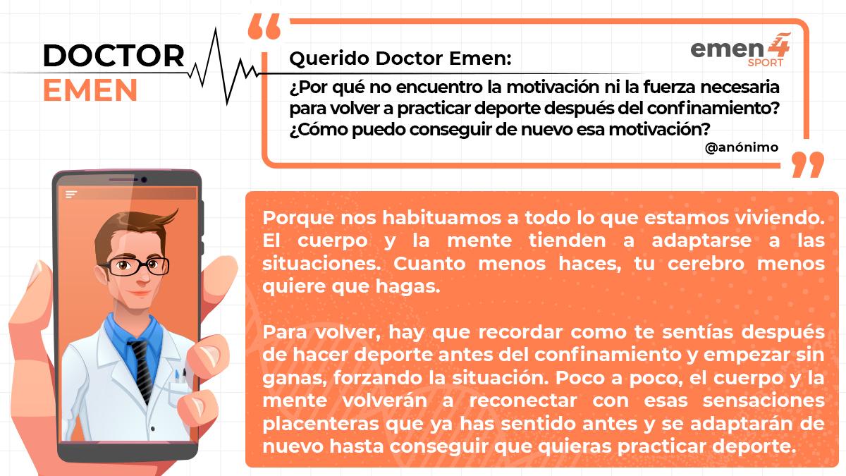 📌 Todas las semanas nos llegan consultas para el Dr. Emen, destacamos esta porque es una de las preguntas más solicitadas por los usuarios de Instagram durante el confinamiento.  Hilo 👇👇 https://t.co/EMa1lnDQt2